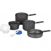 Набор посуды Flex 3 кастрюли, 1 сковородка (4-5 персон)