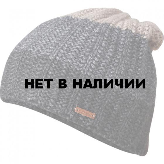 Шапка полушерстяная marhatter MMH 4905/1 антрацит/бежевый