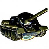 Миниатюрный знак СУ-100 металл