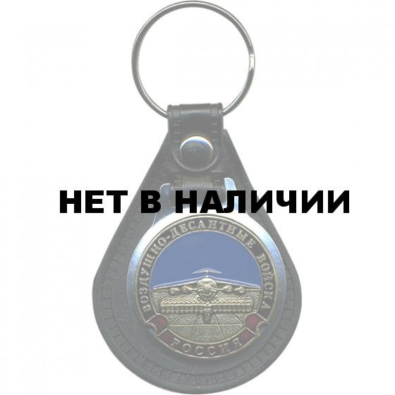Брелок Россия ВДВ самолёт на подложке