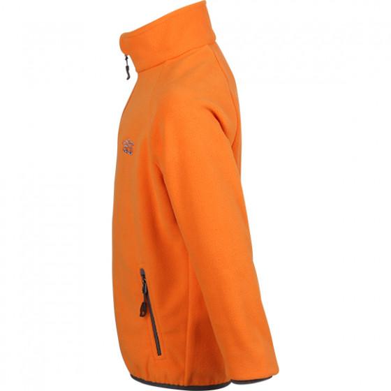 Куртка флисовая детская Пионер оранж