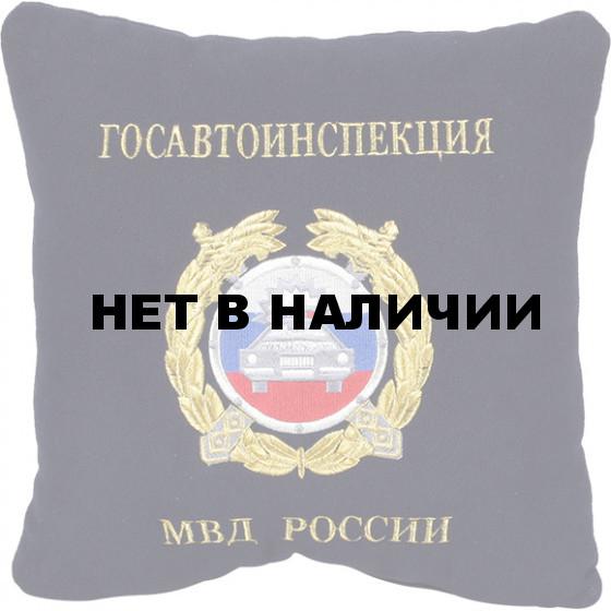 Подушка сувенирная Госавтоинспекция МВД России вышивка