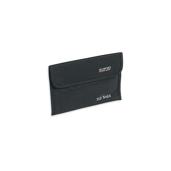 Кошелек-чехол для паспорта TRAVEL FOLDER RFID B, black, 2956.040