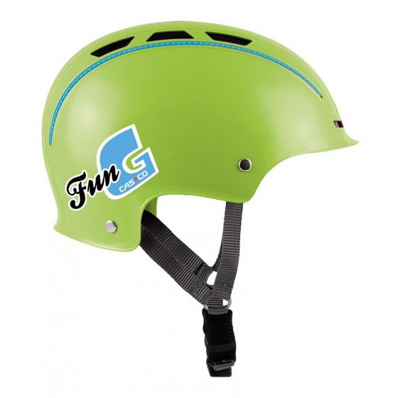 Летний шлем Casco 2016 YOUTH & KIDS Fun-Generation lime