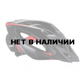 Летний шлем BBB Elbrus with visor matt black/red (BHE-34)