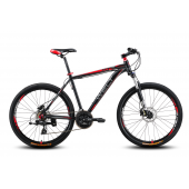 Велосипед Welt Ridge 2.0 HD 2016 matt black/red