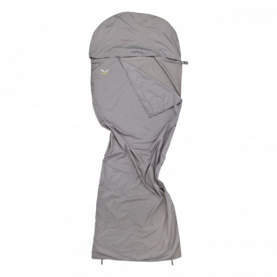 Вкладыш в спальник Salewa 2015 Liners and Pillows MICROFIBRE LINER SILVERIZED GREY /