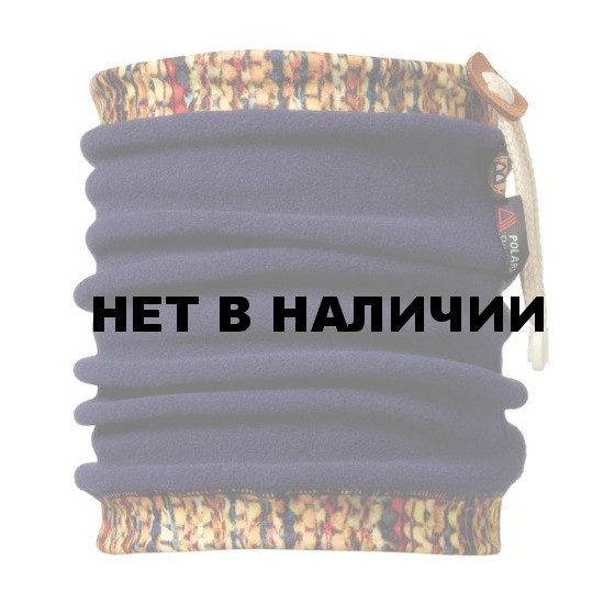 Бандана BUFF NECKWARMER BUFF@POLAR FLEECE SCRAP NAVY