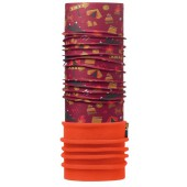 Бандана BUFF 2016-17 JUNIOR POLAR BUFF® ADVENTURE GRANA / ORANGE-GRANA-Standard