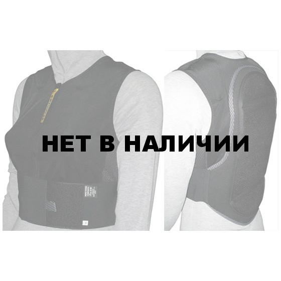 Защитный жилет BIONT 2016-17 Жилет с защитой спины L - XL черный