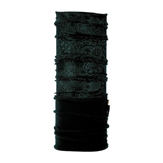 Бандана BUFF POLAR BUFF Active AFGAN GRAPHITEBLACK POLARTEC