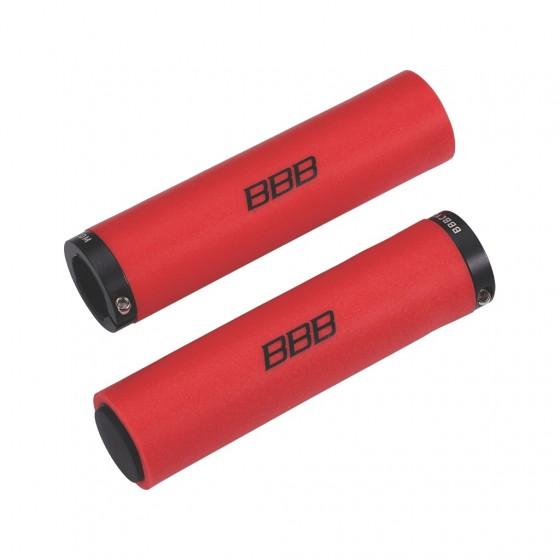 Грипсы BBB StickyFix 130 mm red (BHG-35)