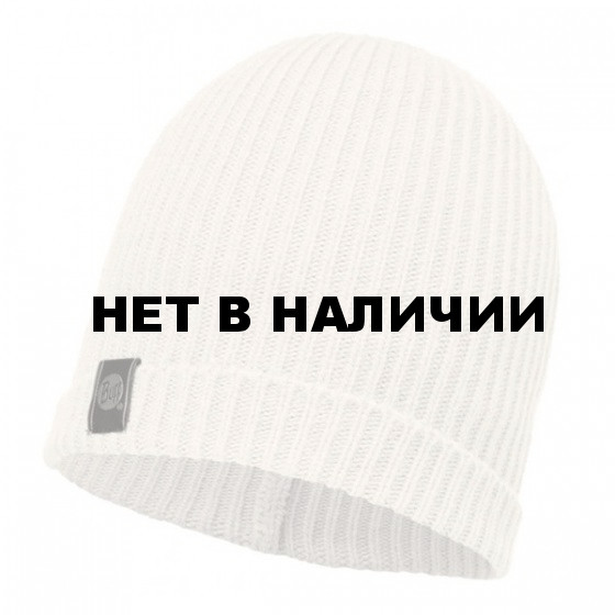 Шапка BUFF 2016-17 DAILY COLLECTION KNITTED HAT BUFF® BASIC HAT WHITE EGRET