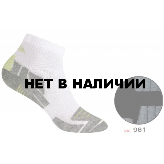 Носки ACCAPI SOCKS RUNNING DRY black/grey (черный/серый)
