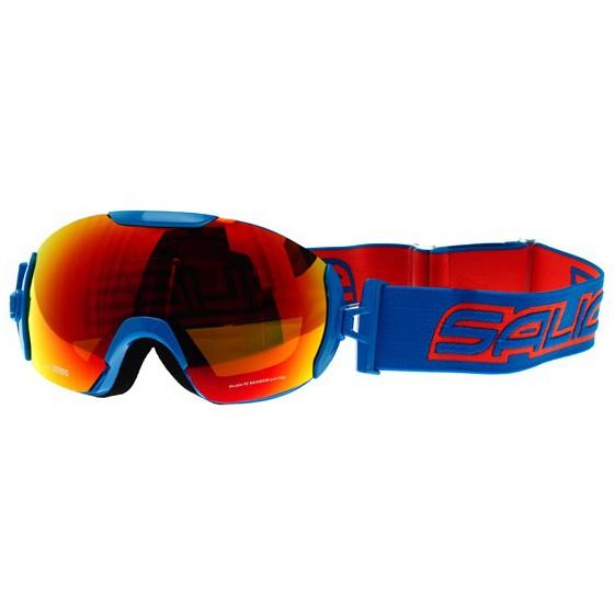 Очки горнолыжные Salice 2016-17 604DARWF CYAN BLUE/RW RED
