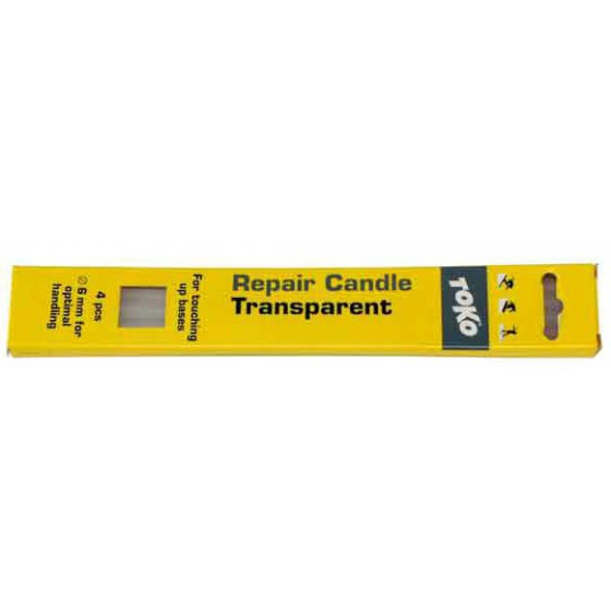 Ремонтная свеча TOKO Repair candle прозрачная, 4шт (прозрачная, 4шт)