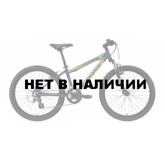 Велосипед ROCKY MOUNTAIN EDGE 24 2016 MATTE INDIGO/LEMONGRASS