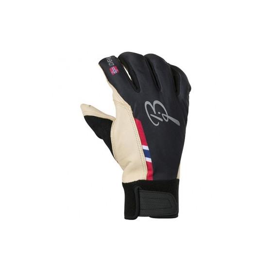 Перчатки беговые Bjorn Daehlie Glove RACE Black (Черный)