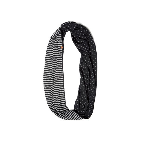 Бандана BUFF TUBULAR INFINITY BUFF BLACK/GREY