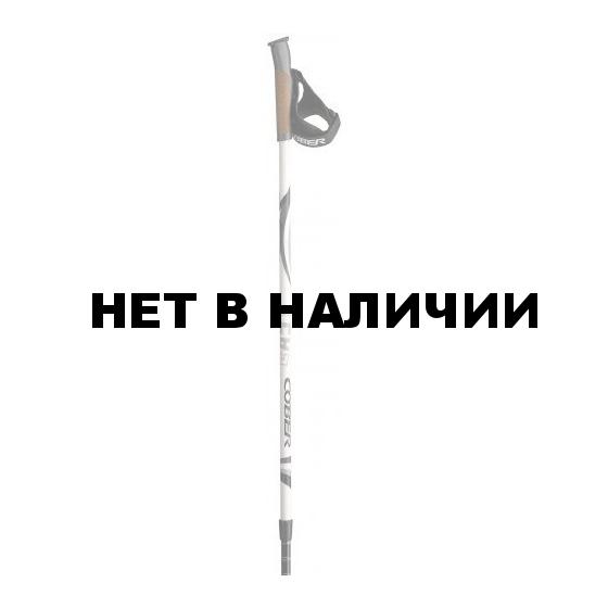 Палки для NW Cober 2015-16 Nordic Walking Easy twist white