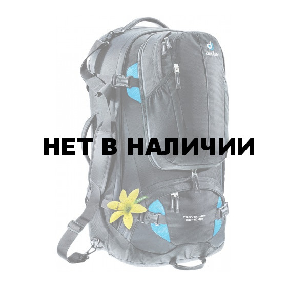 Рюкзак Deuter 2015 Travel Traveller 60 + 10 SL black-turquoise