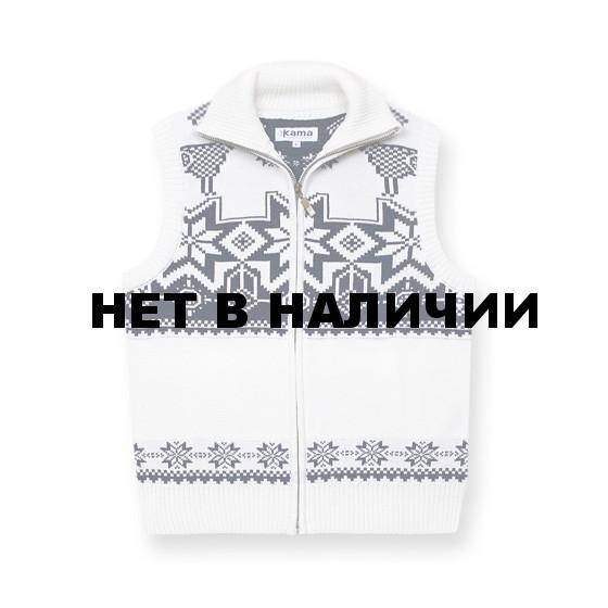 Жилет для активного отдыха Kama 492 (off-white) белый