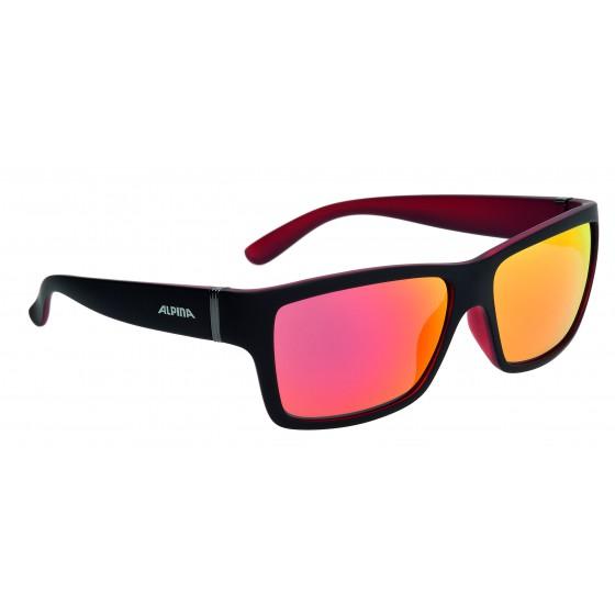 Очки солнцезащитные ALPINA SPORT STYLE KACEY black matt-red
