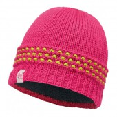 Шапка BUFF 2016-17 JUNIOR KNITTED & POLAR HAT BUFF® JAMBO PINK AZALEA-PINK AZALEA-Standard