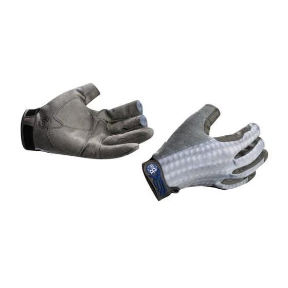 Перчатки рыболовные BUFF Pro Series Fighting Work Gloves Grey Scale (серая чешуя)