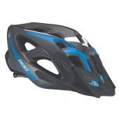 Летний шлем BBB Elbrus with visor black blue (BHE-34)