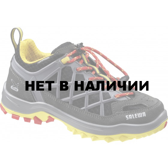 Треккинговые кроссовки Salewa Junior Approach JR WILDFIRE WATERPROOF Carbon/Flame