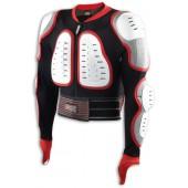 Защитная куртка NIDECKER 2016-17 Predator white/red