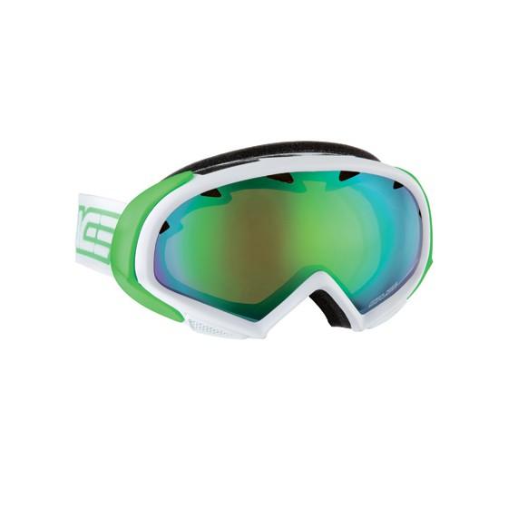 Очки горнолыжные Salice 606DARWFV WHITE/RWGREEN