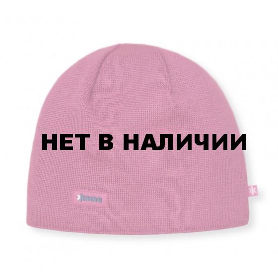 Шапки Kama AW19 pink