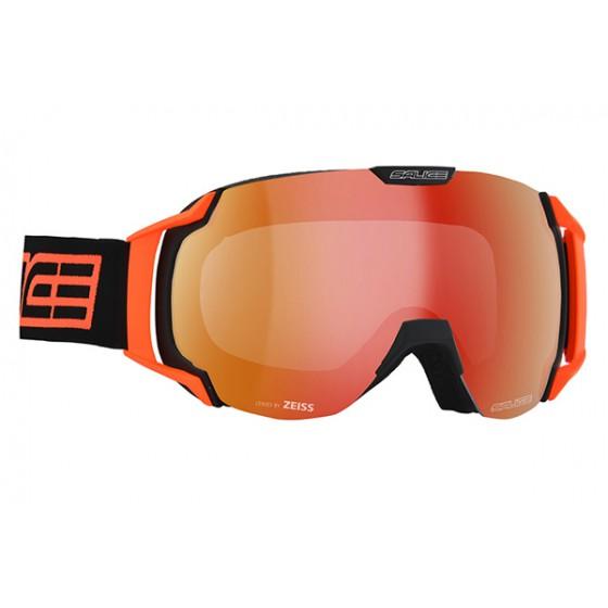 Очки горнолыжные Salice 619DARWF BLACK/RWRED