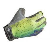 Перчатки рыболовные BUFF Pro Series Fighting Work Gloves Dorado (желтый/синий/зеленый)