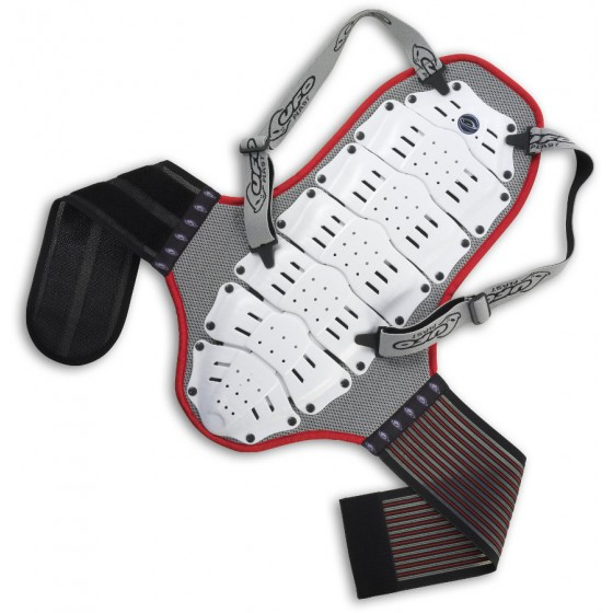 Защита спины NIDECKER 2016-17 back support ( < mt. 1,75) white/red