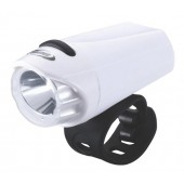 Фонарь передний BBB EcoBeam 0.2W with strap 3x AAA white/black (BLS-75)