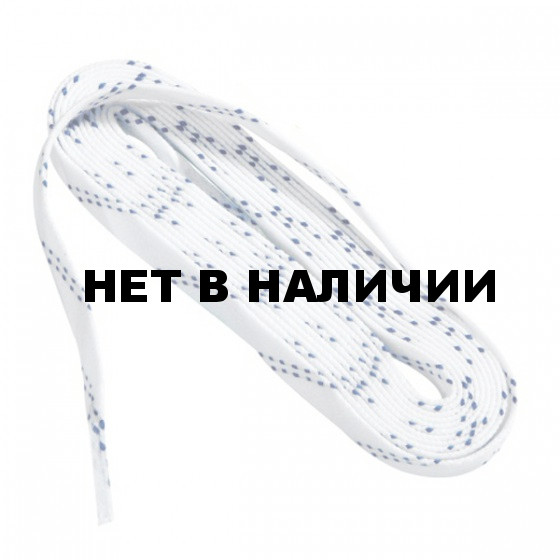 Шнурки для коньков TEMPISH for hockey skate - waxed white