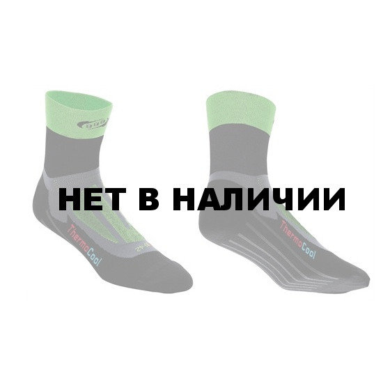 Носки BBB ErgoFeet green-black (BSO-04)