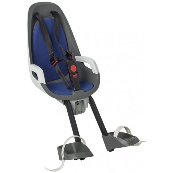 Детское кресло HAMAX CARESS OBSERVER серый/белый/синий