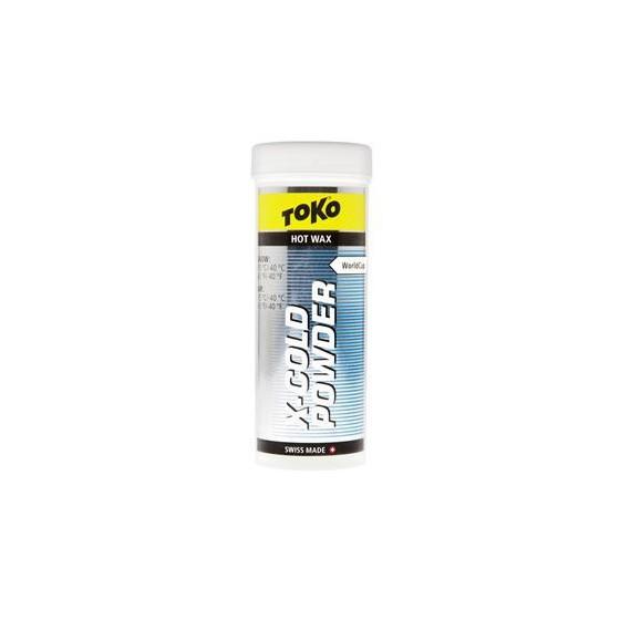 Низкофтористый парафин TOKO X-Cold Powder (-15/-30С, 50 гр.)