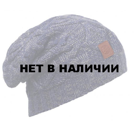 Шапка BUFF 2015-16 KNITTED HATS BUFF NUBA MEDIEVAL BLUE
