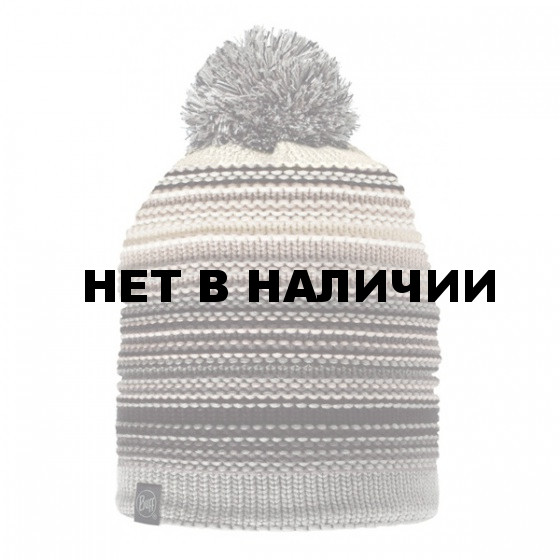 Шапка BUFF 2016-17 SKI CHIC COLLECTION KNITTED & POLAR HAT BUFF® NEPER ELENI GREY