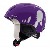 Зимний Шлем Alpina CARAT LX deep-violet-blob