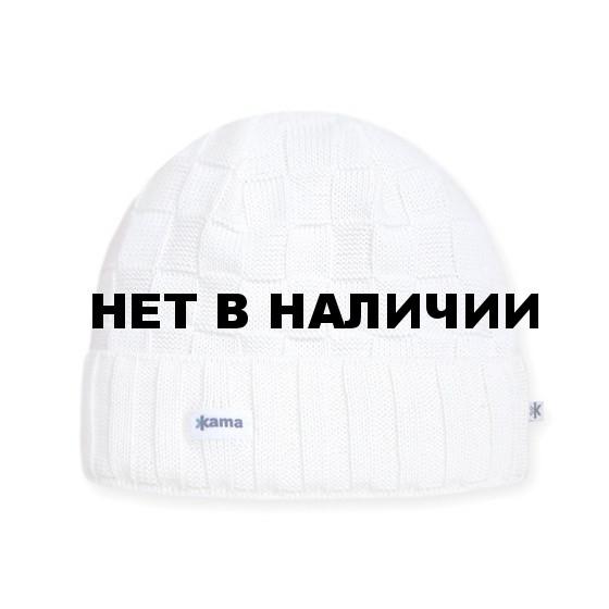 Шапки Kama A34 (off-white) белый