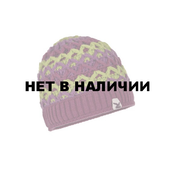 Шапка Salewa LEVIATHAN KN BEANIE grape/5310/6620