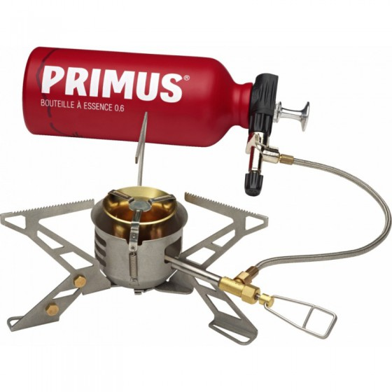Горелка газовая Primus OmniFuel II with fuel bottle and pouch