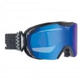 Очки горнолыжные Alpina PHEOS MM black matt_MM blue S2