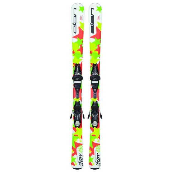 Горные лыжи с креплениями Elan 2015-16 STARR QT EL 4.5 (70-100)